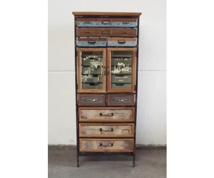 Vintage Cabinet Kastje Brocante
