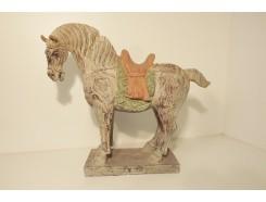 P1035729 Poly. Paard Tang Dynasty. L x H : 41 x 36 cm.