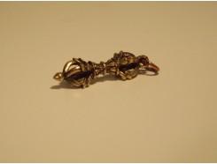 5582008 Brons. Bronzen vajra mini hanger 3,5 cm. lang.