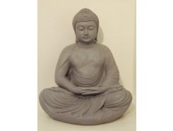 G1037107 Garden buddha Kamakura granite. Hoogte : 45 cm.