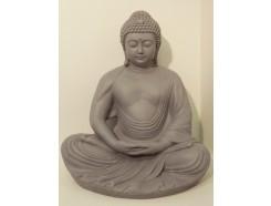 G1037108 Garden buddha Kamakura granite. Hoogte : 61 cm.