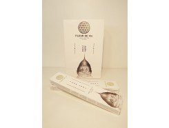 W8355402 Wierook. Fleur de Vie Yoga Leaf. Box met 12 pakjes.