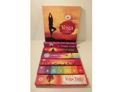"W8355308 Wierook giftset ""yoga collection"" nette verpakking met 6 pakjes à 15 gram."