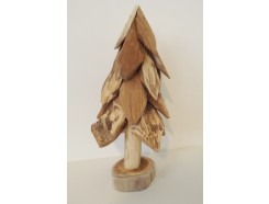 H2030320 Wood. Wooden (Christmas-) tree. Height : 30 cm.
