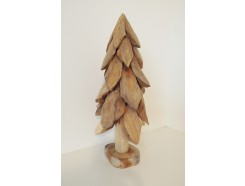 H2030322 Wood. Wooden (Christmas-) tree. Height : 50 cm.