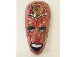 H2330038 Masker. Houten mini masker 20 cm. Indonesië.