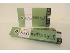W8355210 Wierook. Golden Nag White Sage. Box met 12 pakjes.