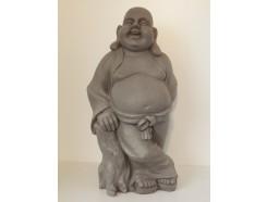 G1641-G Garden boeddha lucky. Hoogte : 62 cm. Granite.