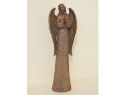P1035793 Poly. Aardsengel Gabriël. Hoogte 52 cm. Religious.
