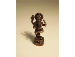 5582005 Brons. Bronzen Ganesha 4 cm. hoog.