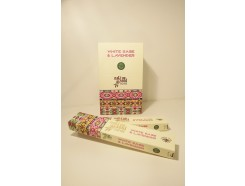 W8355304 Wierook Green Tree Native White Sage / Lavendel. Box met 12 pakjes.